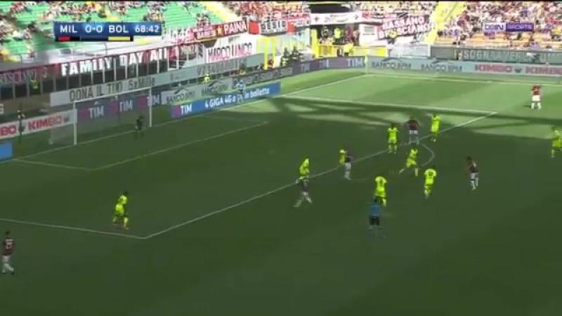 Milan 3-0 Bologna. Seria A 2016-2017