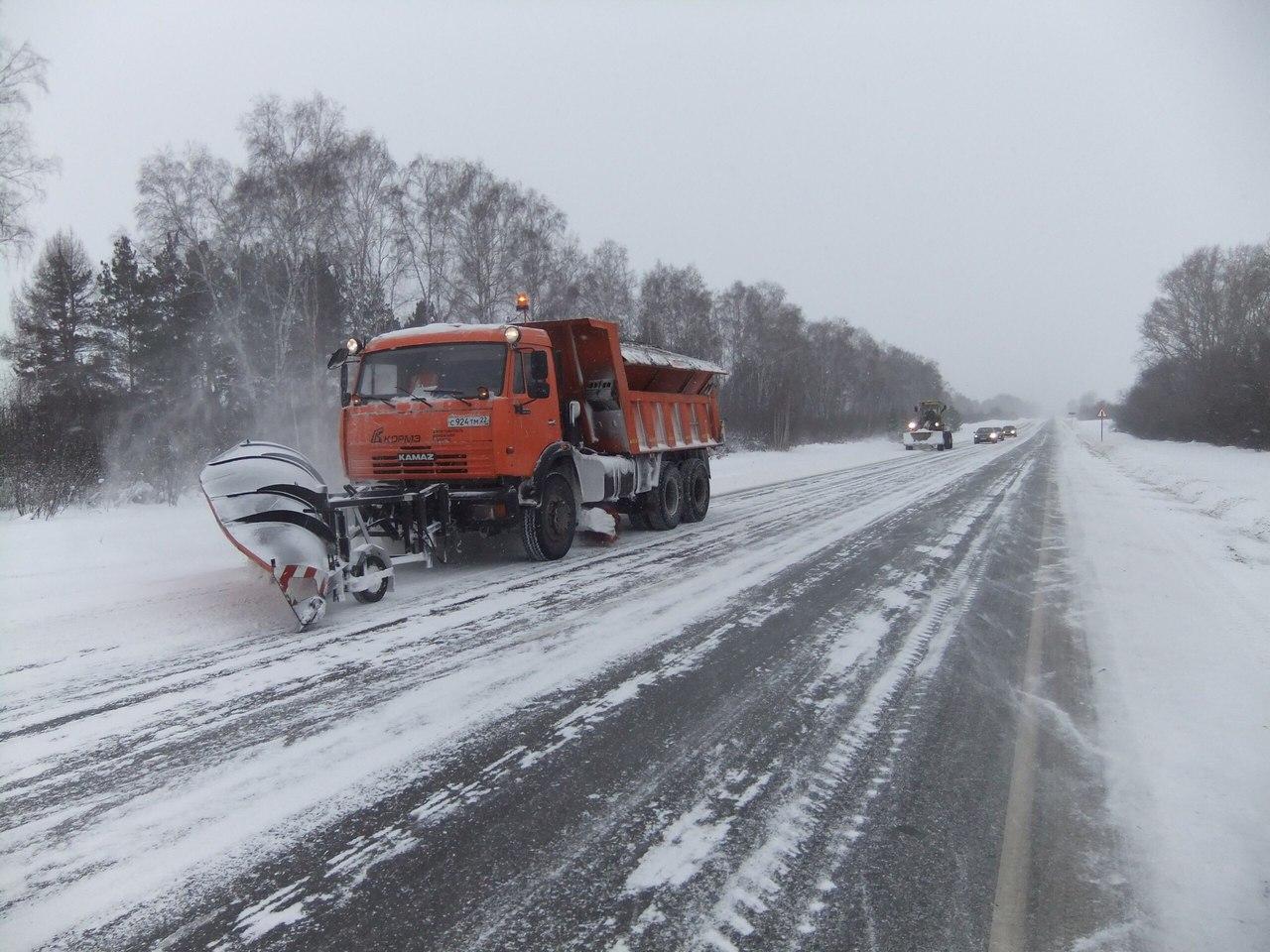Федеральные автодороги Тульской области полностью готовы к зимнему содержанию