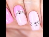 Красивый маникюр в розовом цвете.Нравится?