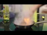 Дейм Видео  Бар Fidel. Салат с утиным магре и творожным сыром