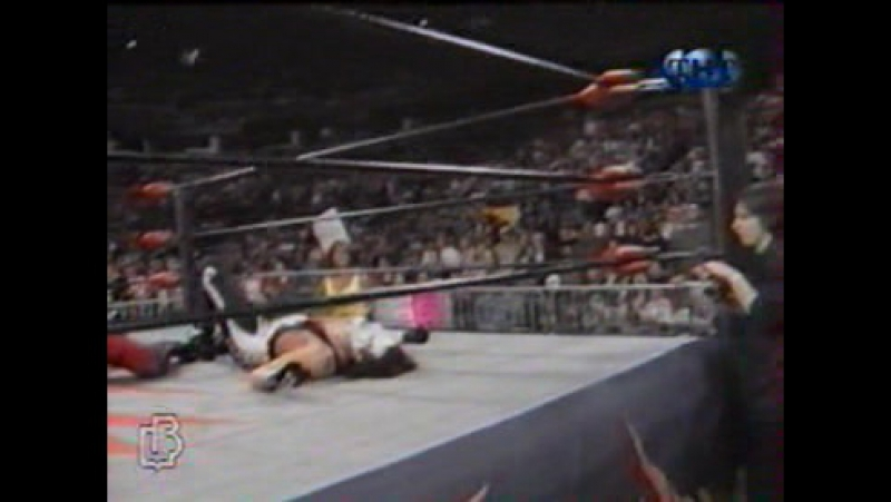 Nitro 11-29-99 - Chris Benoit vs Sting vs Jeff Jarrett