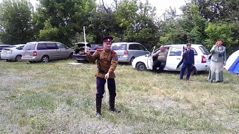 Фланкировка шашками Руслан Брытков