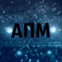 Логотип АПМ (Артель Позитивной Музыки)