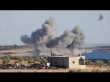 Бомбордировки ВКС и сирийских ВВС группировок ИГ юго-западу от города Аль-Баб