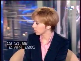 staroetv.su / Неделя (REN-TV, 02.04.2005) В.Жириновский и С.Бабурин обсуждают драку в Думе