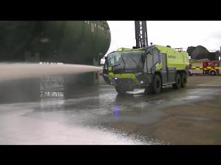 Самая мощная пожарная машина