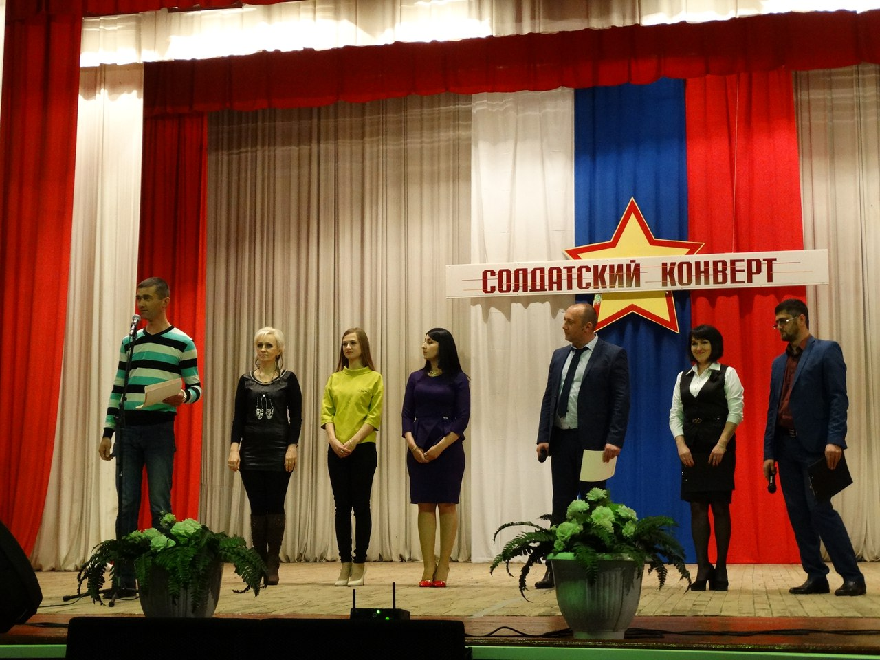 Конкурс молодых исполнителей «Солдатский конверт» прошел в Зеленчукском районе