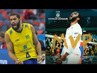 100 Powerful Volleyball Attacks in World League 2017 - Final Six