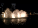 The dancing fountains . Dubai . OAE