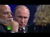 В.Путин ответил на вопросы на пленарном заседании на полях ПМЭФ