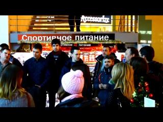 Рождественский молодёжный флэшмоб, Нижний Новгород, ТЦ Седьмое небо, 8 января 2017 года