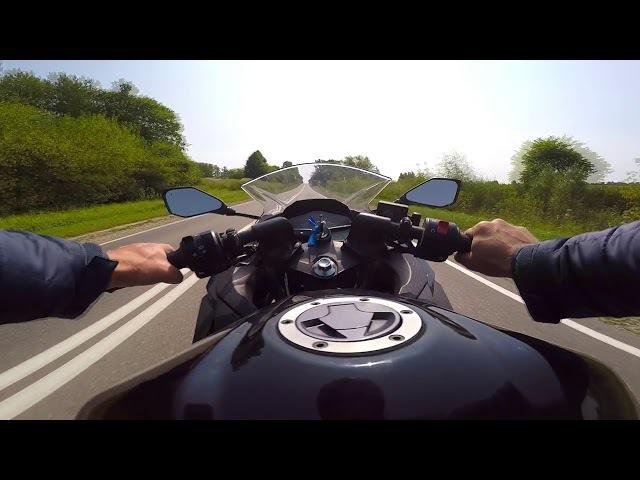 Стабилизатор Feiyu FY-G4 3-Axis Go Pro на мотоцикле. Мотопрохват.Заокский район .