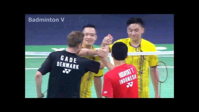 2015 Legends' Vision | Taufik Hidayat /Peter Gade vs Koo Kien Keat /Tan Boon Heong