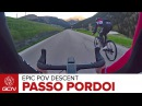 Epic POV Road Bike Descent - Passo Pordoi, Alta Badia, Italy