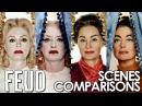 Feud Bette and Joan 2017 season 1 scene comparisons