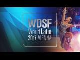 Konstantin Gorodilov - Dominika Bergmannova, EST   Samba   2017 World Latin Vienna R1