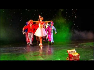 Accordeon show ballet Bize Lizu St.Petersburg Cabaret Butterfly
