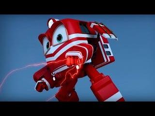 Мультфильм для детей про паровозики – Роботы-поезда 🚄 –Кей и Альф – трансформ ...