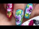 Greatest nail art flowers ever! Fantastic tutorial!