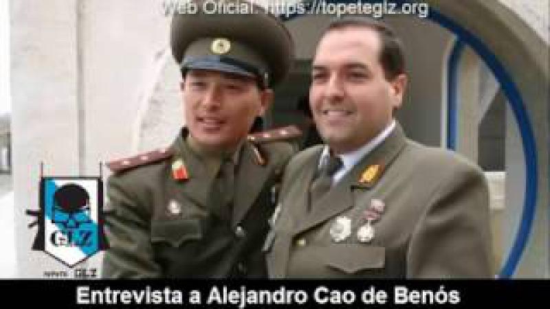 Entrevista a Alejandro Cao de Benós sobre la situación en Corea del Norte - 19 Abril 2017