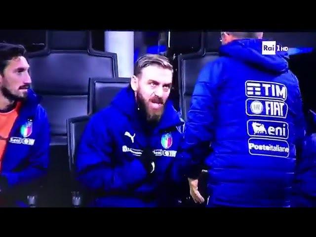 Daniele De Rossi Che ca**o entro io Italia-Svezia 0-0 13112017