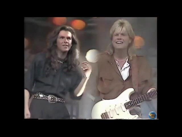 Modern Talking - Locomotion Tango 1987 ( Studio video sound )