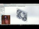 Настройка и работа 3D мыши в программе SolidCAM/SolidWorks.