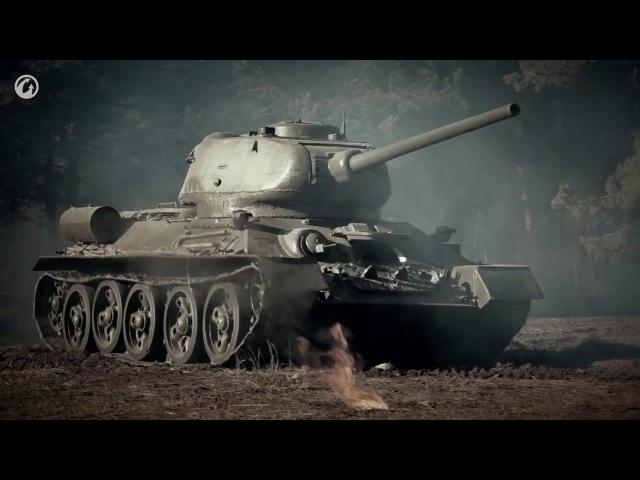 Танки Т34 и ИС2 против Королевских тигров