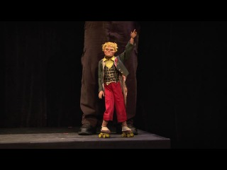 2013 National Puppet Slam: National Marionette Theatre's David J. Syrotiak performs
