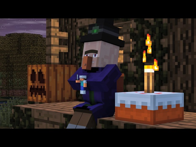Villager Witch Life 2 Alien Being Minecraft Animation