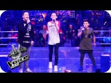 Justin Bieber - Love Yourself (Ridon, Robin, Merdan)  The Voice Kids 2016  Battles  SAT.1