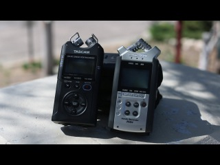 Tascam DR-40 Vs Zoom H4n what's right for you? - DSLR FILM NOOB