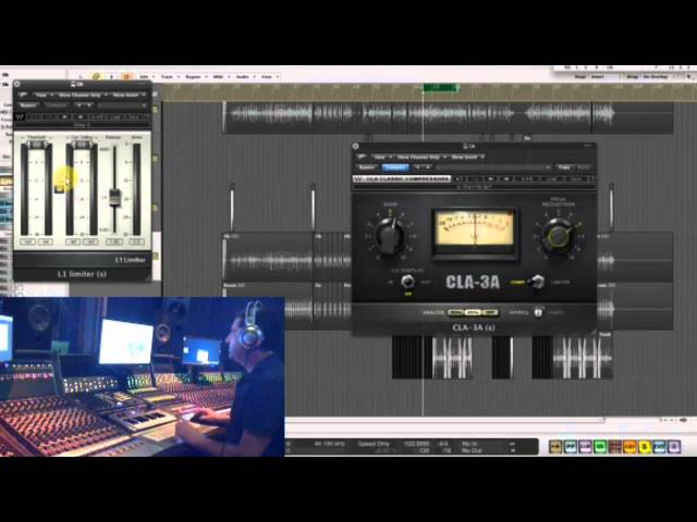 Mixing Drums with Waves Webinar with Yoad Nevo
