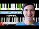 How to play RIVER FLOWS IN YOU on Piano Tutorial - EASY - Full Song - Yiruma