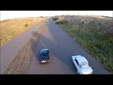 Bmw E30 350hp+ vs Moskvich 412 Turbo dragracing Fpv Racing Drone