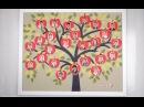 Подарок на День учителя Классное дерево