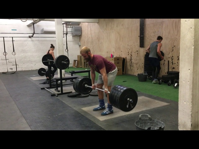 Deadlift Session w. Nikolaj Balslev