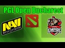 NaVi ( DENDI ) vs Empire | CIS Grand Finals | PGL Open Bucharest Minor