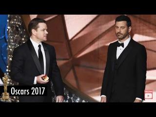 Oscars 2017: Jimmy Kimmel and Matt Damon Funniest Moments