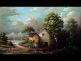 Classical Oil Painting Landscape With Yasser Fayad