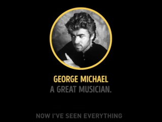 George Michael - A great musician. A great person.