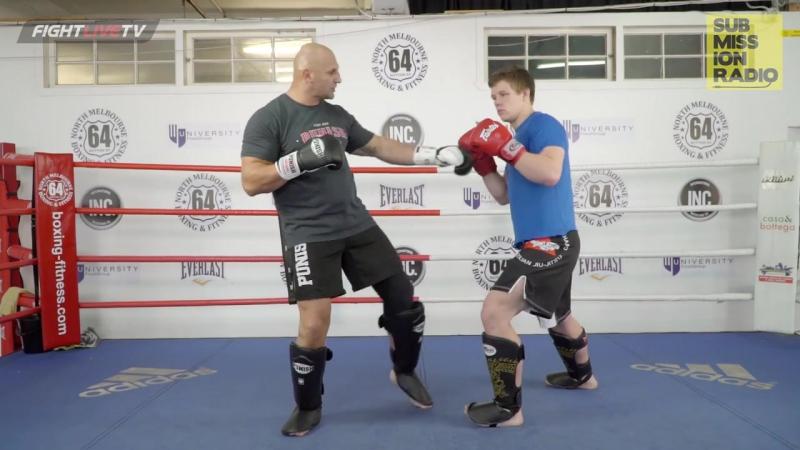 Sam Greco | Landing Inside Leg Kicks Against Very Defensive Opponents
