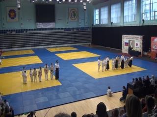 Показательные выступления воспитанников Ибрагимова Рашида и Карнауховой Натальи