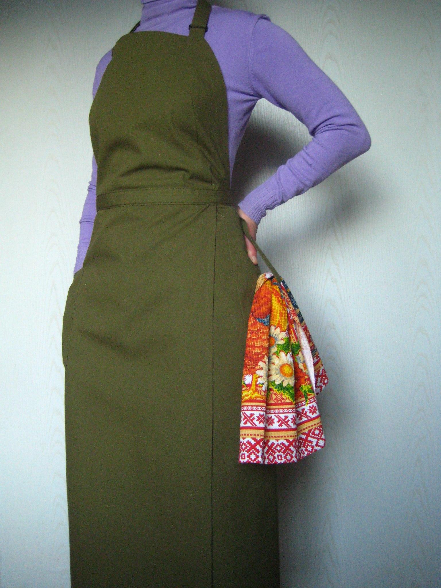 Japaneese style female apron