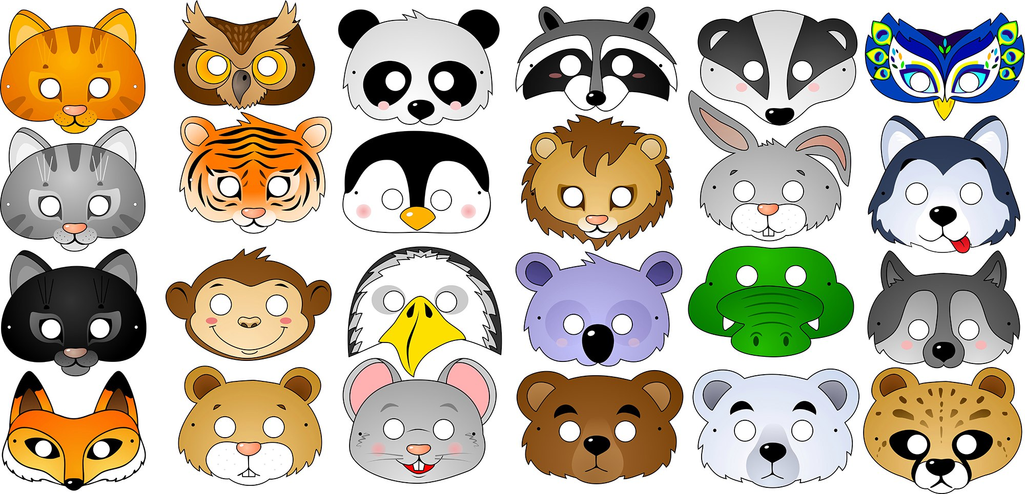 Мордочки животных картинки для детей, юбилеем мужчине