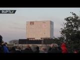 227 кг взрывчатки на здание_ в США снесли историческую постройку
