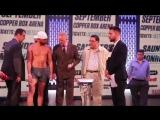 Билли Джо Сондерс - Вилли Монро / BILLY JOE SAUNDERS vs WILLIE MONROE JR Weigh in