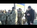 Військовослужбовці в свою відпустку приєднались до блокади торгівлі на крові
