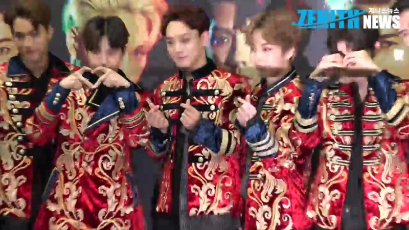 170528 EXO, The EXO'rDIUM DOT in Seoul Press Conference, ZENITH NEWS