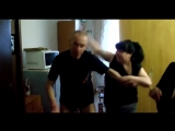 Жена застукала пьяного мужа с любовницей [720p]